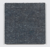 Grey Grid (1974), Oil and Dorland's Wax Medium on canvas