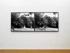 Body/Ground (The Clearing: or Cortez and La Malinche. Thomas Jefferson and Sally Hemings, N. and Me),1991/2012