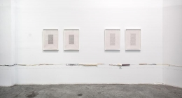 Two Parallel Lines, installation view, Satellite, Dubai (2013)