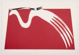 Simile (Red) (1997)Lithography & Serigraphy27.63h x 39w in (70.2h x 99.1w cm)