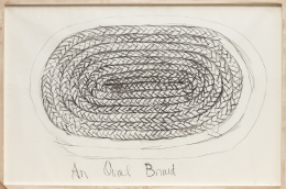 An Oval Braid (1972)