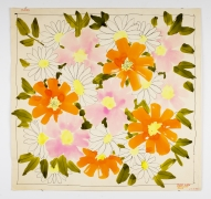 """Native Flowers, from the """"Florals"""" series [053], c. 1972, Watercolor On Paper"""