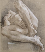 Paul Cadmus, Reclining Nude NM252 (1993)