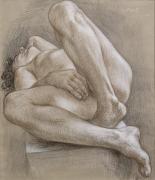 Paul Cadmus, Reclining Nude NM252 (1993)