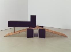 Tomb for Neema, 2012, Concrete, wood, shingles, paint