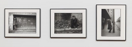 Hands (1964) Silver gelatin prints in 3 parts; 11.6h x 15.3w in (29.5h x 38.9w cm) (each)