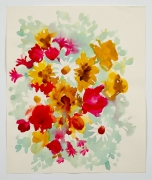 "Untitled, from the ""Florals"" series [007], n.d., Watercolor On Paper"