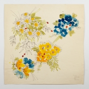 """Untitled, from the """"Florals"""" series [027], n.d., Watercolor On Paper"""