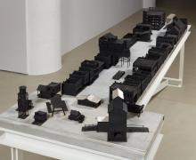Tomb for John Berryman, 1972-2012, Mixed Media