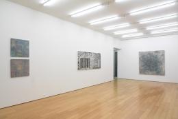 Jack Whitten,Installation view, Alexander Gray Associates, 2009