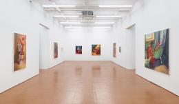 Hugh Steers,installation view, Alexander Gray Associates, 2013