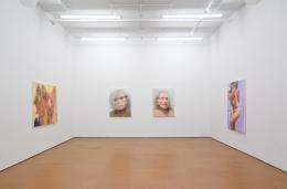Joan Semmel,Installation view, Alexander Gray Associates, 2011