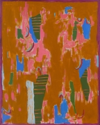 Journey (1975) Acrylic on canvas