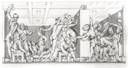 Paul Cadmus, Y.M.C.A. Locker Room (1934)