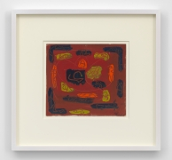 Untitled, 1952 Gouache on paper