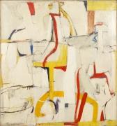 Departure, 1951, Oil on canvas