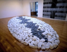 RICHARD LONG Mohawk, 2002