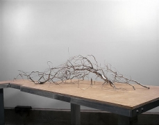 ROXY PAINE Model for Maelstrom, 2009