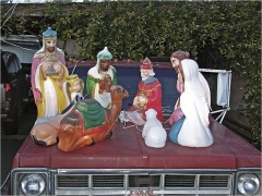 BILL OWENS Jesus on a GMC, 2006