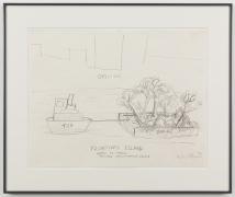 ROBERT SMITHSON Floating Island - Barge to Travel Around Manhatten Island