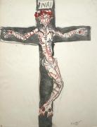 Untitled [INRI - Christ on crucifix], 1961