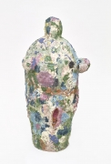 , Rainbow Femme,c.1987,Stoneware and colored slips,44 1/2 x 21 1/4 x 17 1/2 in.