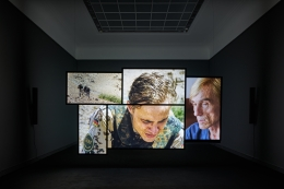 OMER FAST, Spring (installation view)