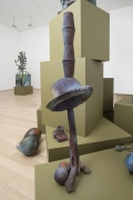 , FOLKERT DE JONG The Trumps Major I, 2014 Patinated bronze 39 5/16 x 11 3/4 x 11 3/4 in.