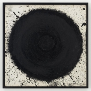 ALDO TAMBELLINI BS-6, from the Black Space Series, ca. 1961-62