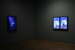 BILL VIOLA Becoming Light (installation view), 2005