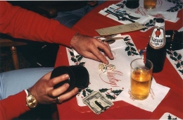 BILL OWENS It's a matter of pride and I like to gamble. We roll to see who pays for drinks.
