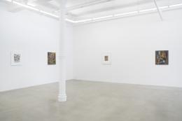 Installation view, Scott Olson at James Cohan, 291 Grand Street, June 20 - July 26, 2019
