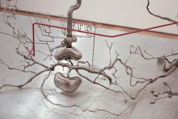 ROXY PAINE Model for Distillation, 2010