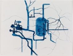 ROXY PAINE Study for Distillation, 2010