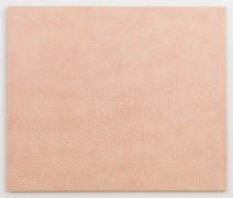 , MICHELLE GRABNER Pink Curtain, 1997 Enamel on panel 32 x 38 in. (81.3 x 96.5 cm)