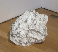 SPENCER FINCH Lump (of concrete) Mistaken for a Pile (of dirty snow) #1