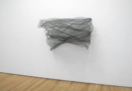 , ALAN SARET Green Wave of Air, 1968-69 Chicken wire mesh 53 x 60 x 48 inches