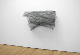 , ALAN SARET Green Wave of Air, 1968-69 Chicken wire mesh 53 x 60 x 48 inches