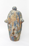 , Chubby Bunny,c.1987,Stoneware and colored slips,48 x 24 1/4 x 24 in.