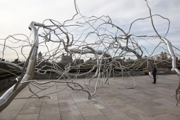 ROXY PAINE Roxy Paine on the Roof: Maelstrom