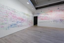 , INGRID CALAMETracks2013 Installation view