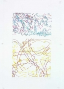 INGRID CALAME英格丽•卡兰 #248 Drawing (Tracings up to the L.A. River placed in the Clark Telescope Dome, Lowell Observatory, Flagstaff, AZ) 绘画248号(亚利桑那州,弗拉格斯塔夫,洛厄尔天文台,克拉克望远观测台,往洛杉矶河追踪), 2006