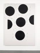 , MICHAEL RIEDELUntitled (Form),2014Silkscreen on linen90 1/2 x 67 x 2 1/4 in. (229.9 x 170.2 x 5.7 cm) Courtesy David Zwirner, New York/London