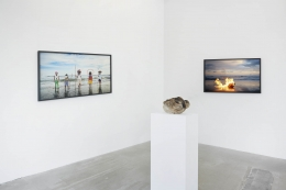 Installation view, Tuan Andrew Nguyen, A Lotus in a Sea of Fire, 291 Grand Street, February 28 - May 3, 2020
