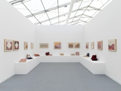 Jordan Nassar, Installation View, Frame at Frieze New York 2018, Presented by Anat Ebgi Gallery, Los Angeles