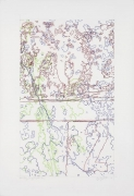 """INGRID CALAME英格丽•卡兰 #320 Drawing (Tracings from Buffalo, NY) 绘ç""""»320号(从纽约水牛城得到描图),2008"""