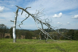 ROXY PAINE Fallen Tree, 2006