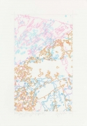 """INGRID CALAME英格丽•卡兰 #294 Drawing (Tracings from Buffalo, NY) 绘ç""""»294号(从纽约水牛城得到描图),2008"""