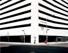 Entrance, Houston, Texas, 1983, C-print,  48 7/8 x 59 inches