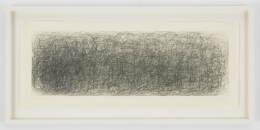 , JOHN CAGE R3 (Where R = Ryoanji), 1983 Drypoint, Set of 2 Each: 9 1/4 x 23 1/4 in. (23.5 x 59 cm) Edition of 25